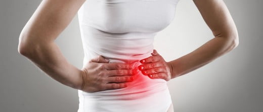 Menstrual clots may cause painful cramps
