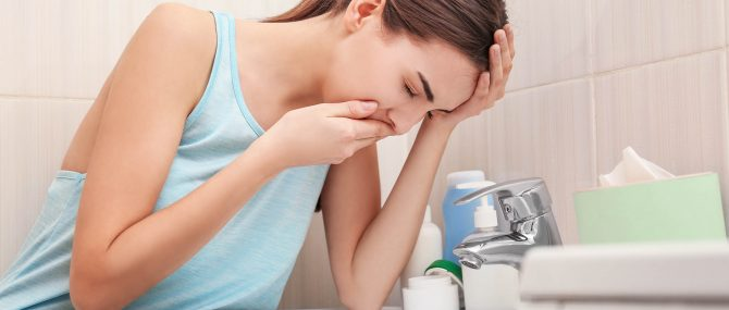 Feeling sick, nausea and vomiting during early pregnancy