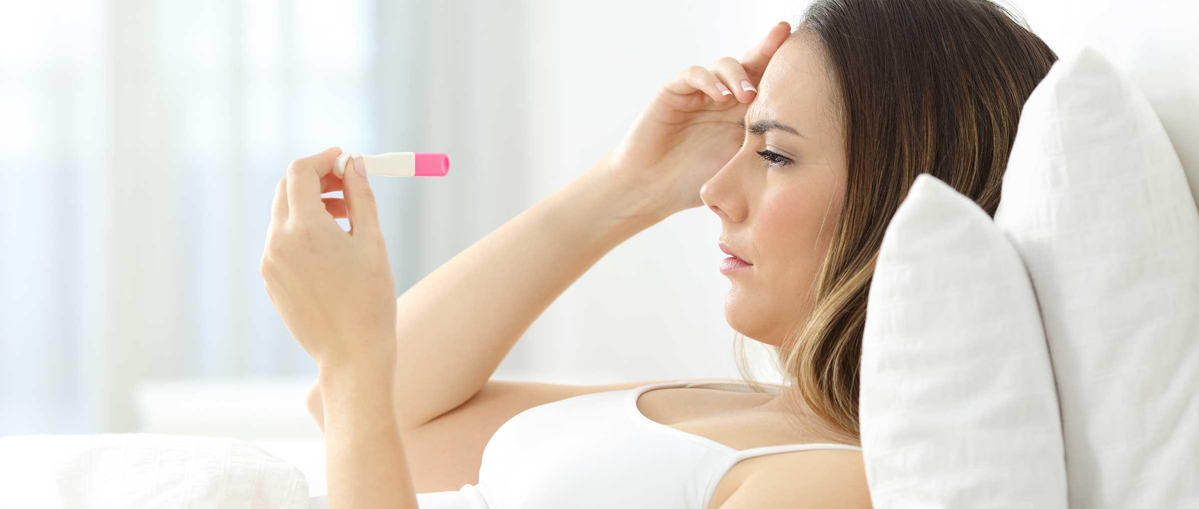 What causes a false negative pregnancy test?