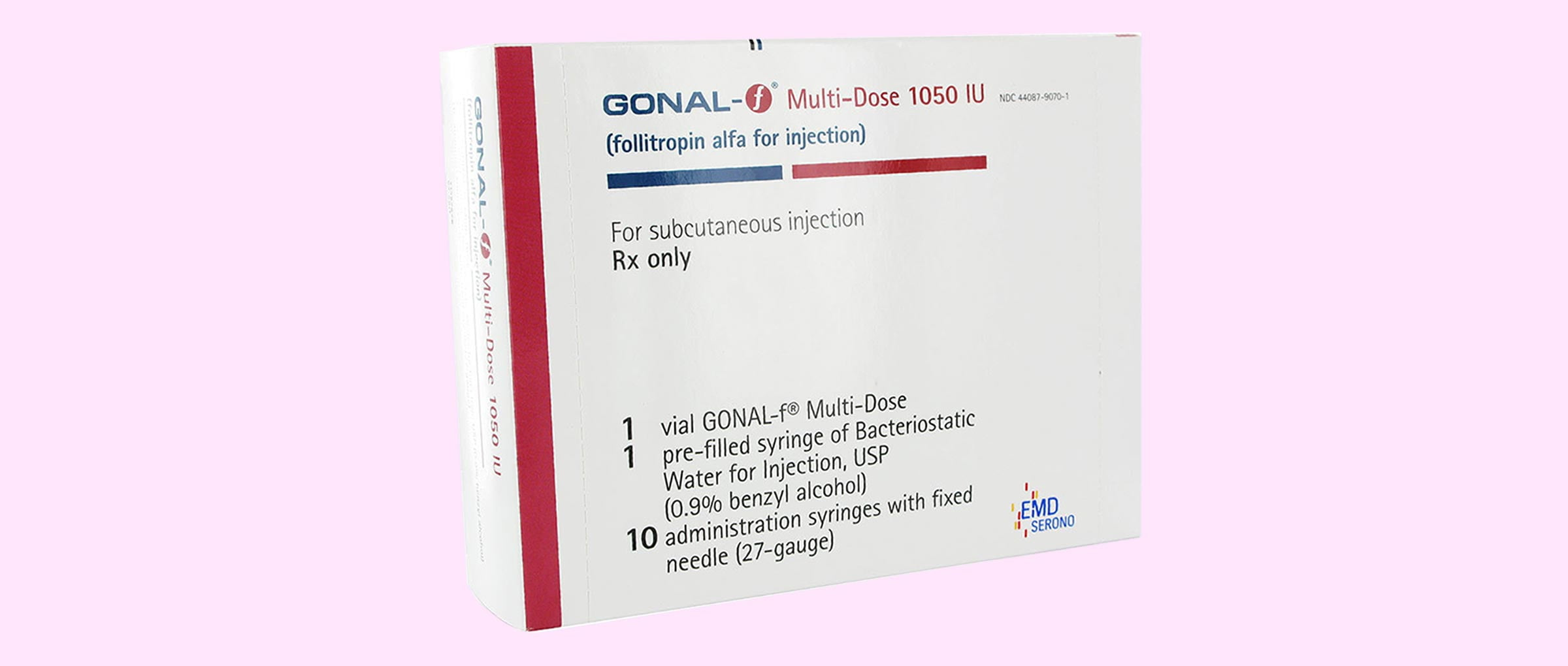 Gonal-f 1050 packaging