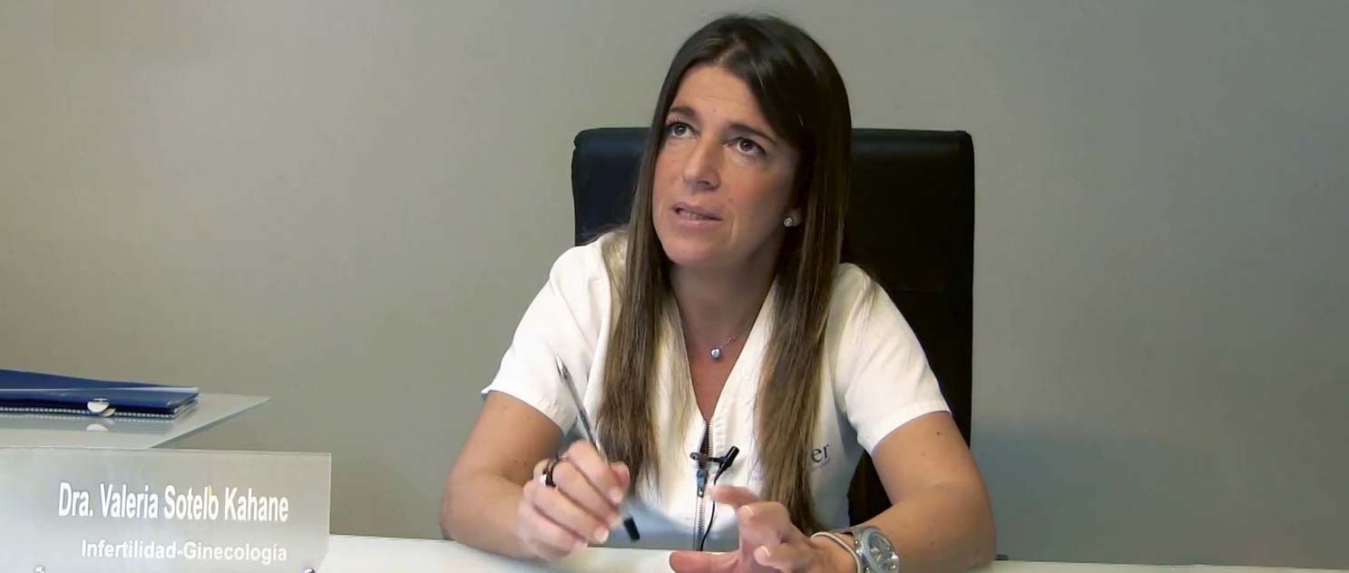 Imagen: Gynecologist Valeria Sotelo about OHSS