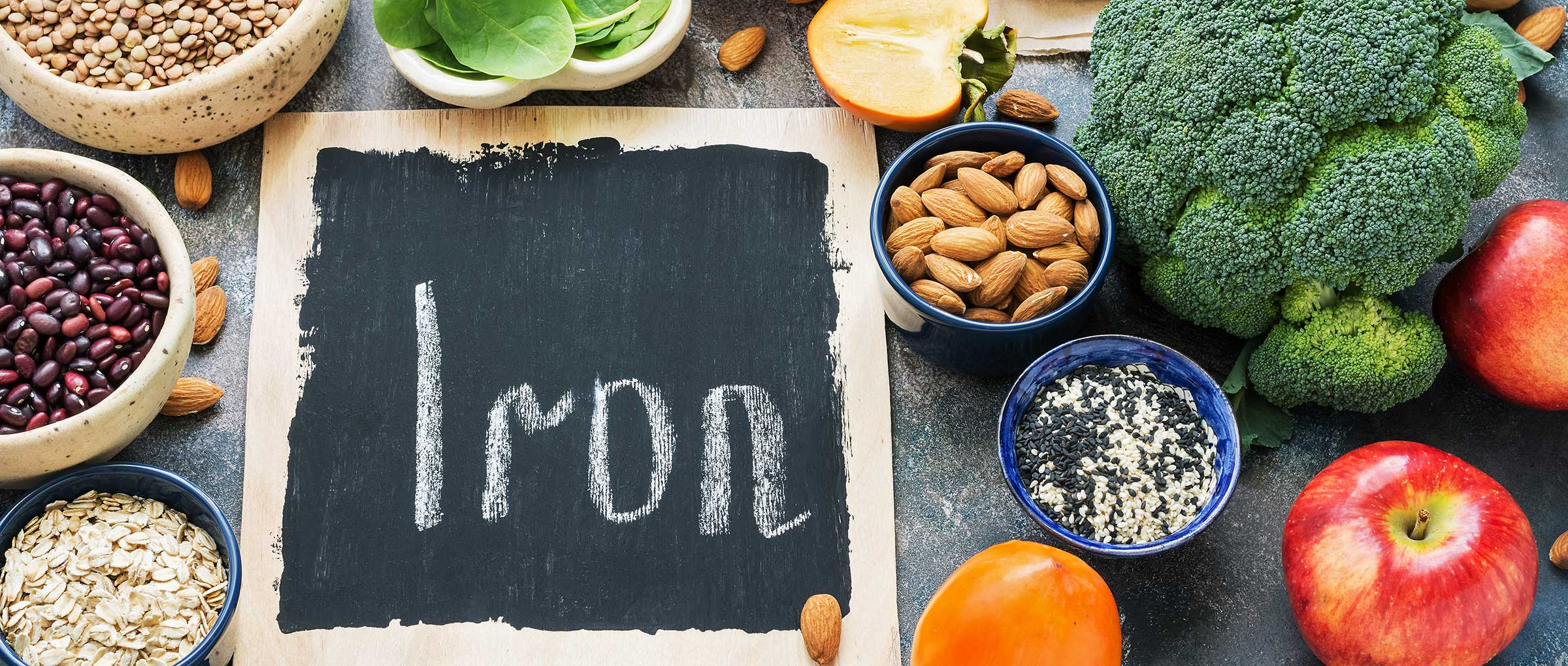 Iron-rich foods to relieve menstrual pain