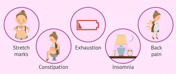Imagen: Pregnancy symptoms at month 7