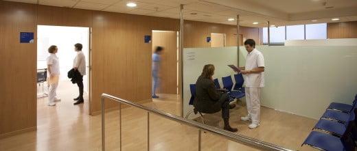 Barcelona IVF sala de espera