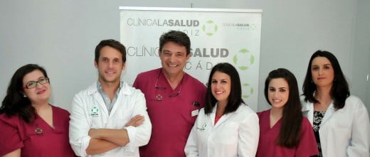 Medical team Clínica La Salud Cádiz