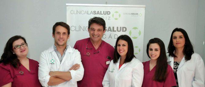 Medical team Clínica La Salud Cádiz