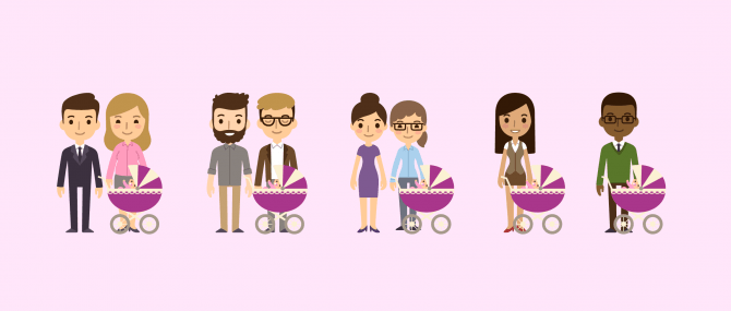 Building a family using third-party conception