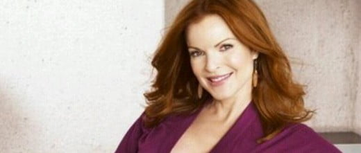 Marcia Cross got pregnant at age 44