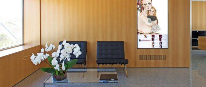 Waiting room Instituto Bernabeu Alicante