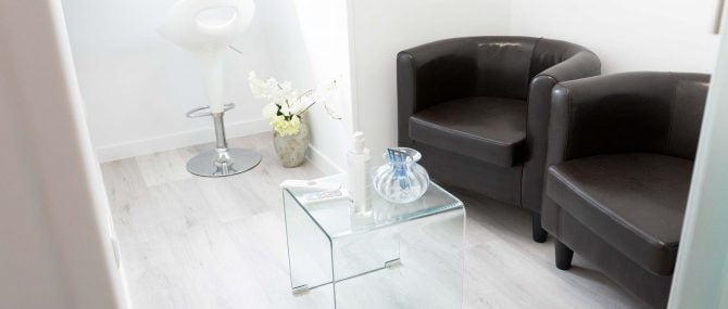 Imagen: Waiting room for egg donors at IVF Madrid