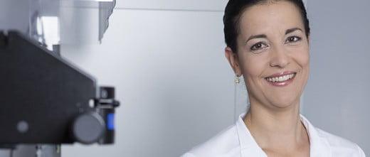 Clinic director Eva Blahová