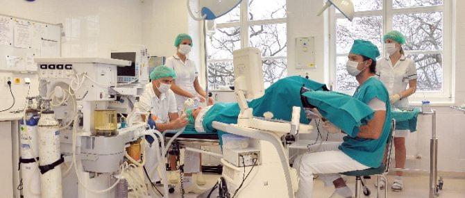 IVF Zlín operating room
