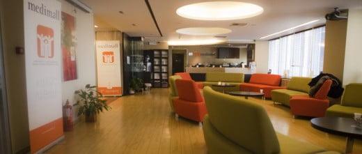 Waiting area Medimall Athens