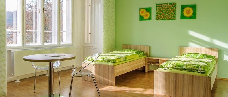 ReproGenesis patient´s room green