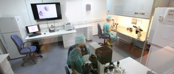 AKESO Fertility Center laboratory