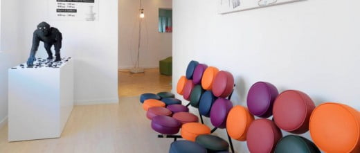 AKESO Fertility Center waiting area