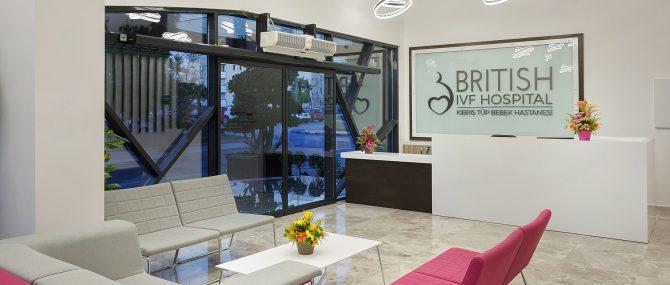 British Cyprus IVF Hospital - Waiting area