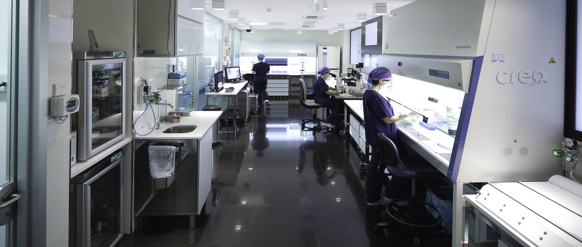 Crea IVF laboratory