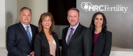 HRC Fertility medical team
