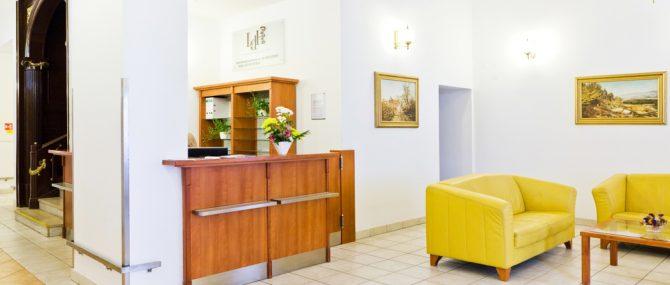 Reprofit International waiting area