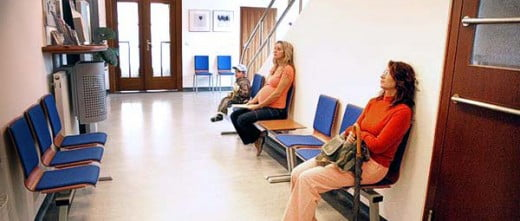 Waiting area Arleta IVF