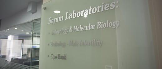 Serum IVF laboratories