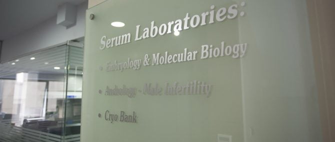 Serum IVF laboratories