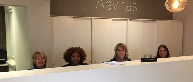 Aevitas reception desk