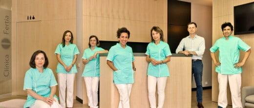Clínica Fertia medical team