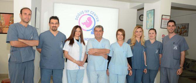 Dogus IVF Center Embriologist Office Medical Team