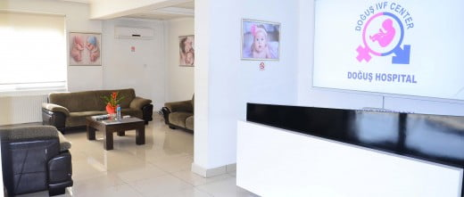 Dogus IVF entrance to the clinic