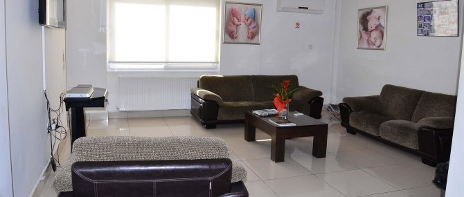 Dogus IVF waiting area