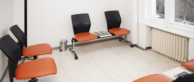 GEST IVF clinic waiting area