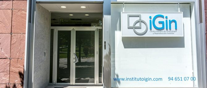 iGin entrance to the clinic