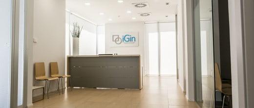 iGin reception
