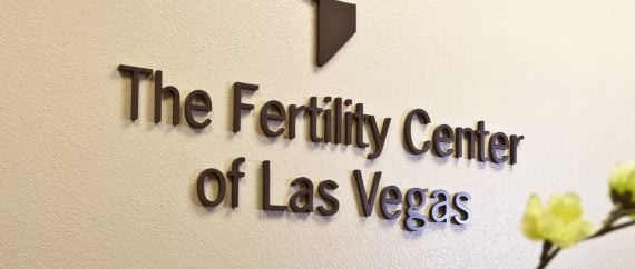 The Fertility Center of Las Vegas lobby