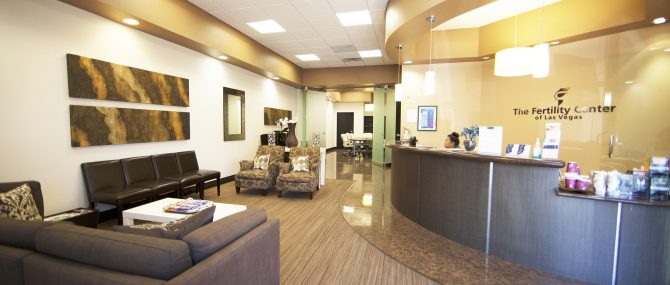 The Fertility Center of Las Vegas reception