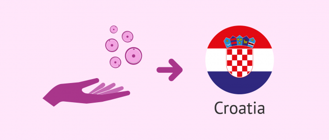 How does egg donation work in Croatia?