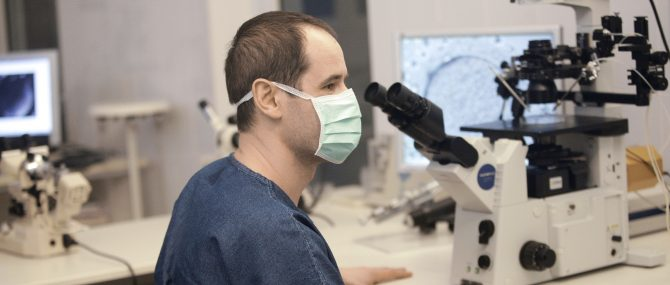 Human Reproduction Problems Clinic IVF laboratory