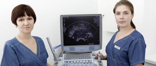 Human Reproduction Problems Clinic ultrasound scan