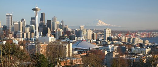 Pacific NW Fertility panoramic view of Seattle