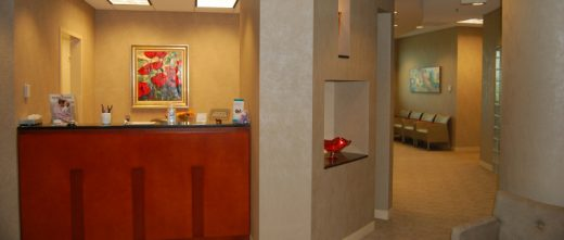 GRS Alpharetta Office Reception Area