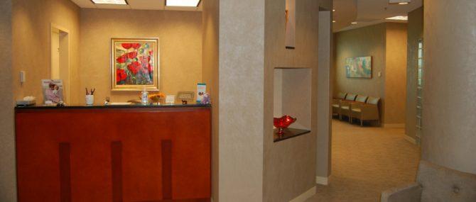 GRS Alpharetta Office Reception Area