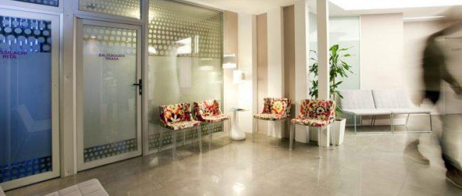 IAKENTRO main entrance and waiting area