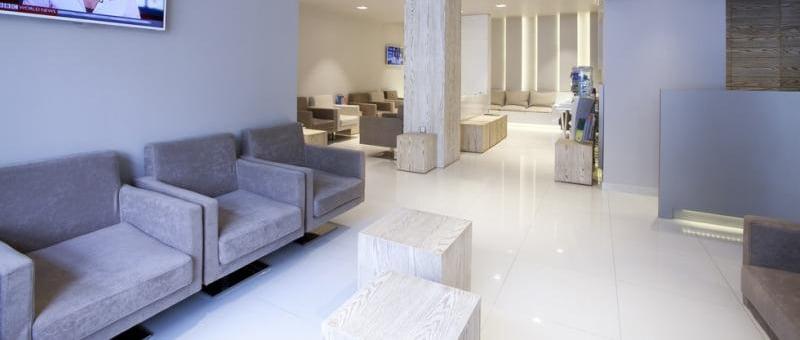 IAKENTRO waiting area and reception