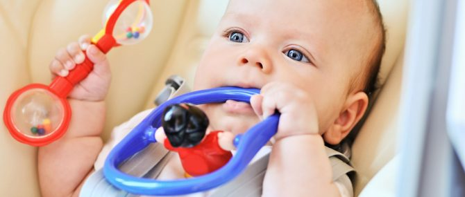 Your baby's senses help shape his experience