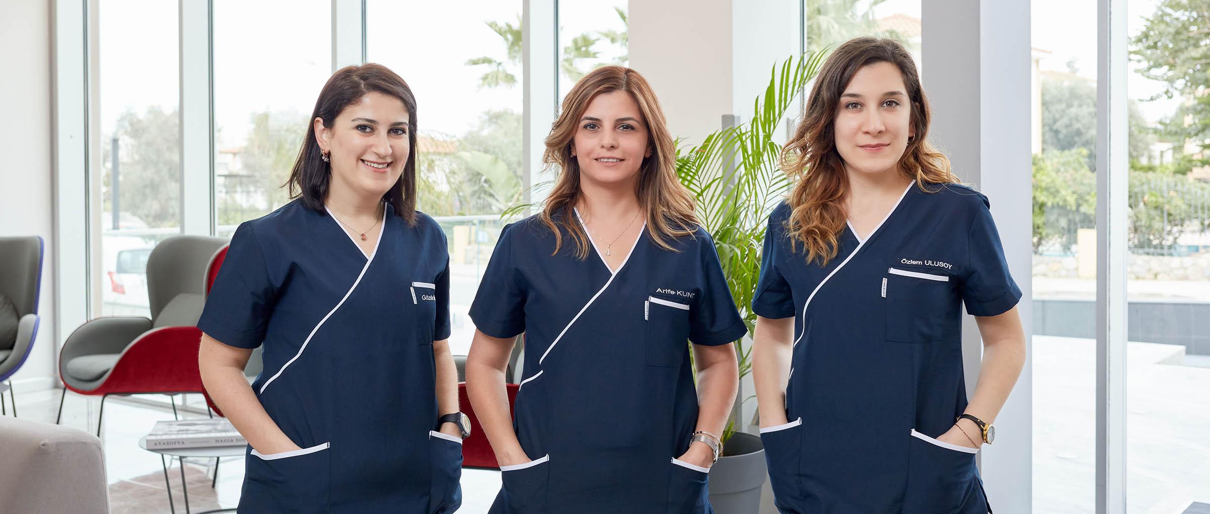 Dunya IVF nursing staff