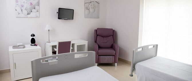 Unidad Phi Fertility Center facilities rooms