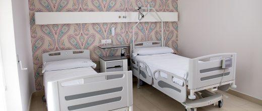 Unidad Phi Fertility Center rooms