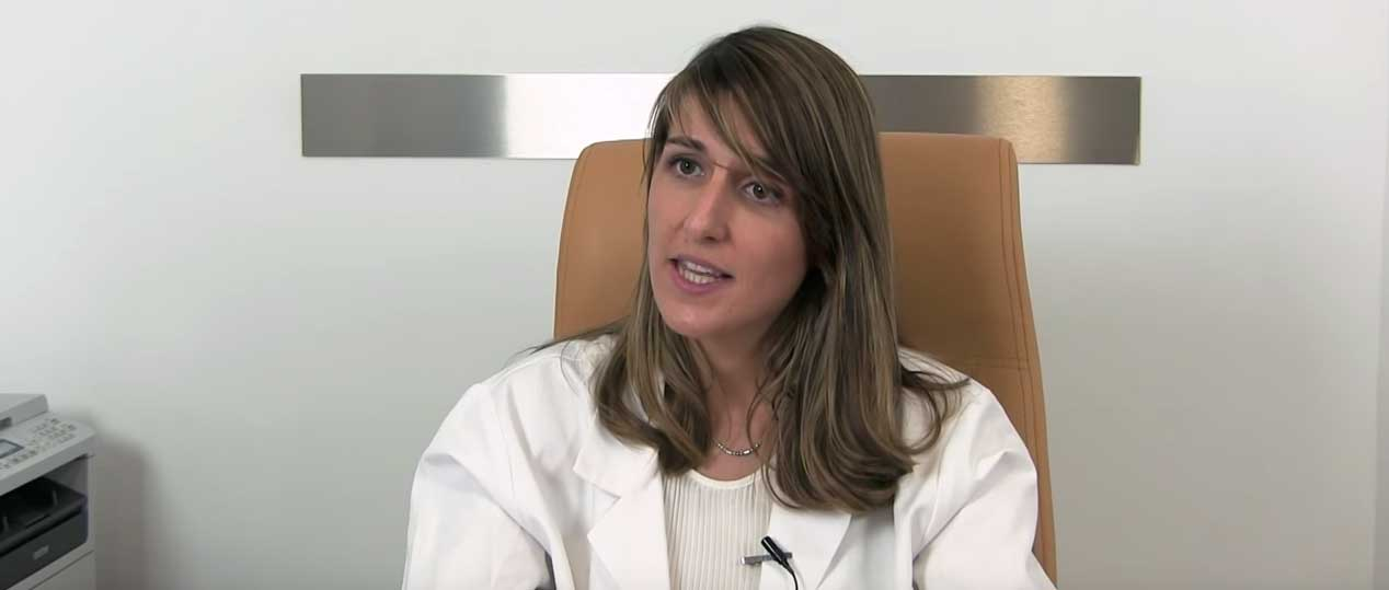 Blanca Paraíso, gynecologist specialized in assisted reproduction
